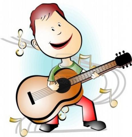 Рисунки гитаристами